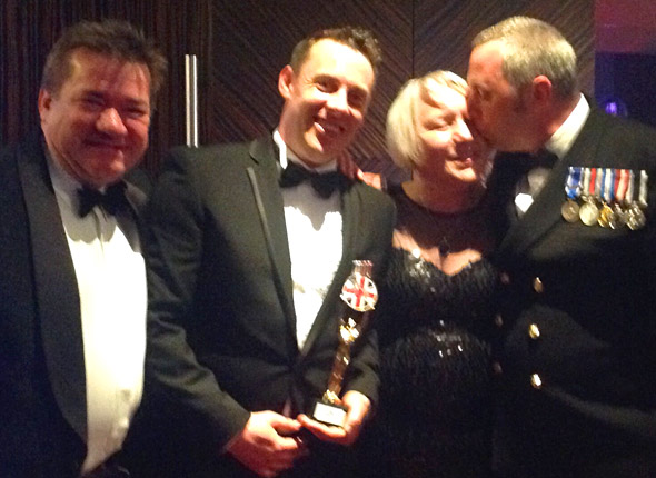 We did it! Soldiering On Awards 2015