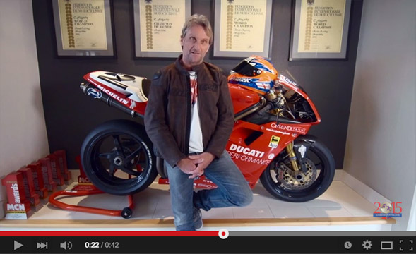Carl Foggarty: www.youtube.com/watch?v=FLuBBPN5dXo