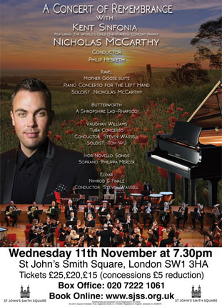 A concert of remembrance with Kent Sinfonia