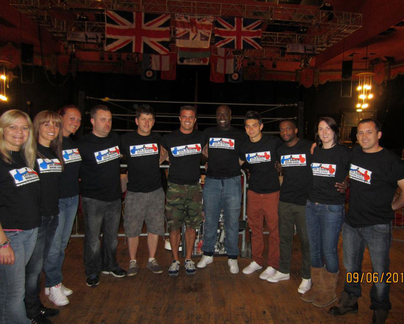 Our amazing troops at VoW raising money for charity